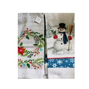 Other - 🐱NWT Christmas Kitchen Towels